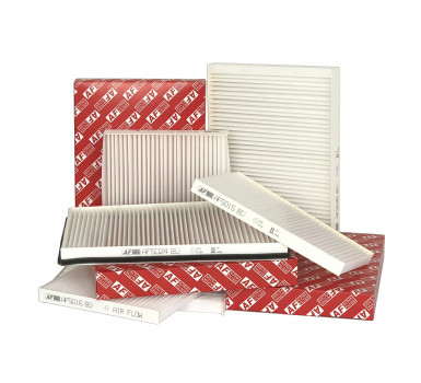 Expansion of the range of cabin filters