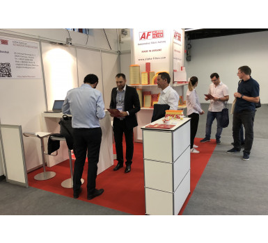 Participation in the exhibition Automechanika Frankfurt 2018
